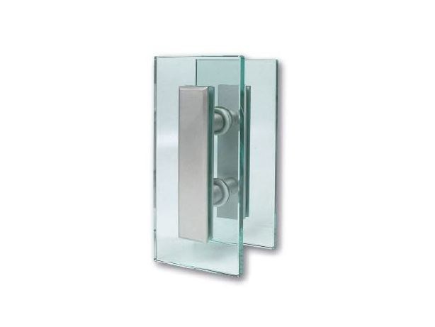 Glass and steel Shower cabin handle PERLA by Nuova Oxidal