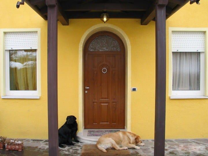 Pannello di rivestimento per porte blindate in alluminio - Maniglia porta ingresso ...