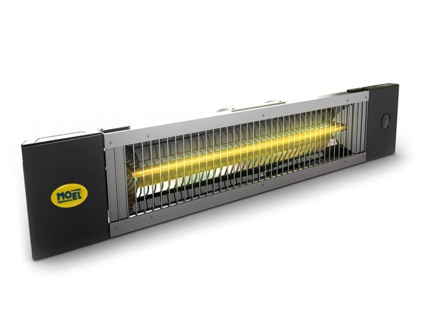 Infrared outdoor heater PETALO by Mo-el
