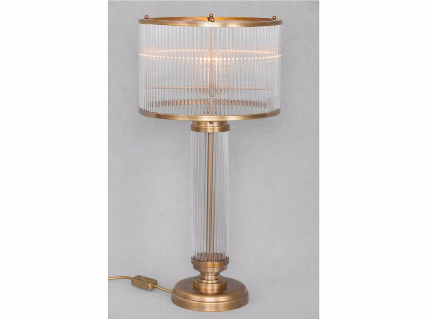 Direct light handmade brass table lamp PETITOT II | Table lamp - Patinas Lighting