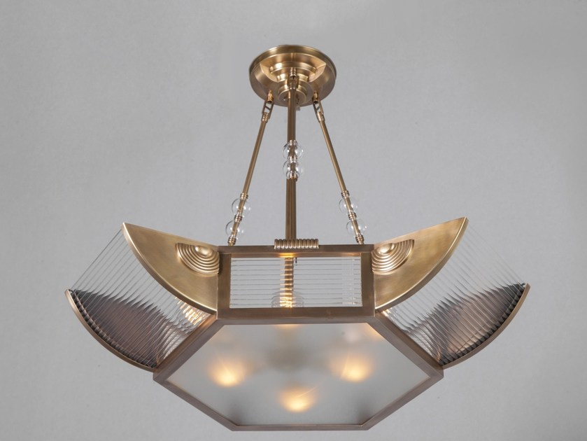 Direct light handmade brass chandelier PETITOT VIII | Chandelier - Patinas Lighting