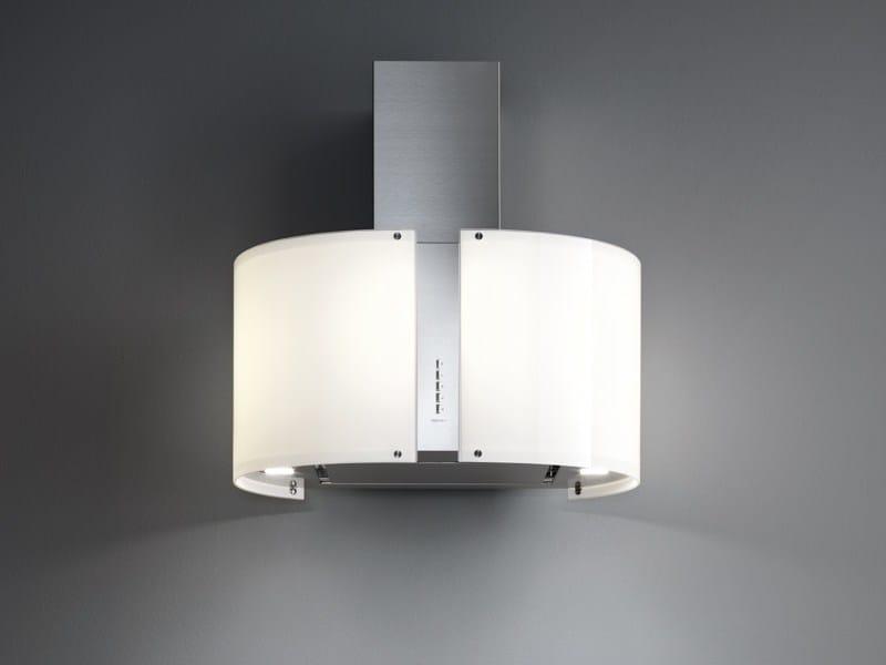 Wall-mounted glass and steel cooker hood PHARO | Wall-mounted cooker hood - Falmec
