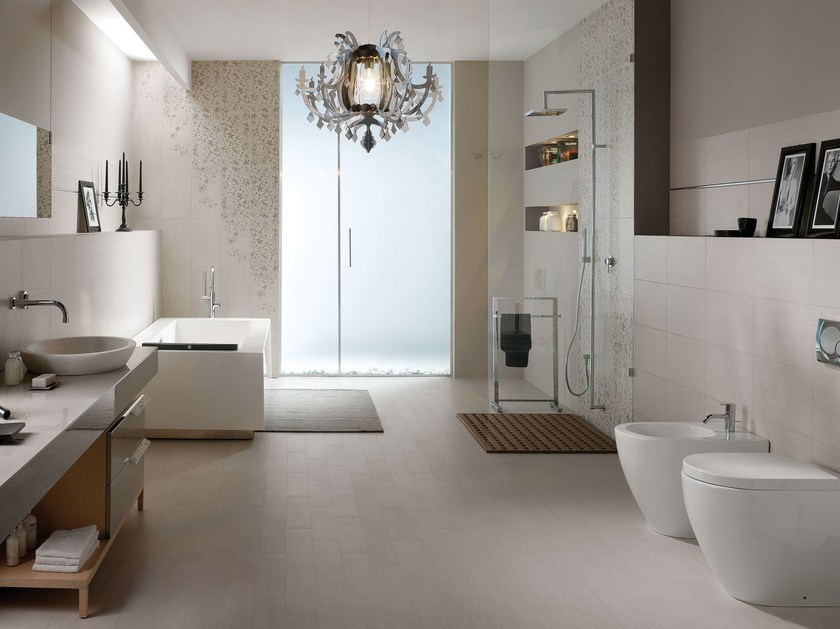 White-paste wall tiles with stone effect PHILOSOPHY - Ceramiche Marca Corona
