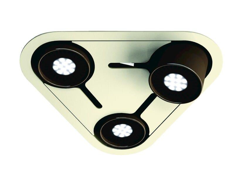 LED adjustable spotlight PHIOLE C - FLASH DQ by LUG Light Factory