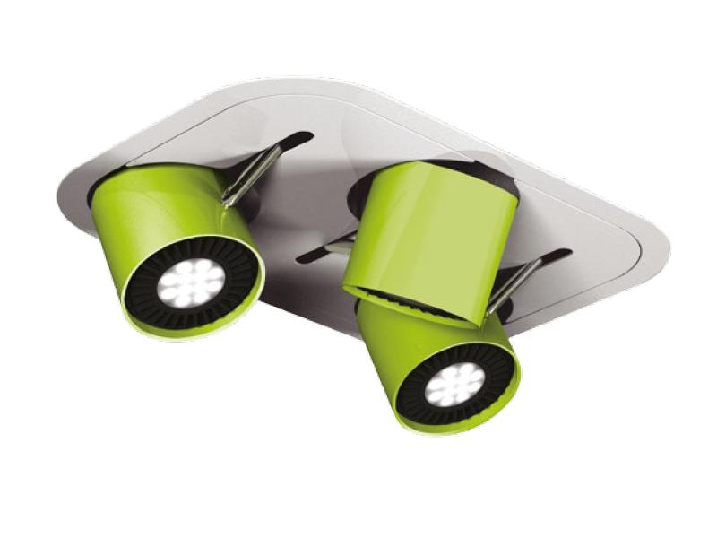 Faretto a LED orientabile PHIOLE D - FLASH DQ by LUG Light Factory