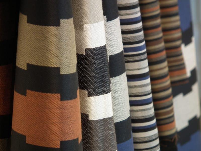 Jacquard fabric with graphic pattern PIASÌ LINEA - l'Opificio