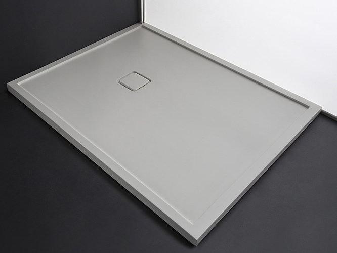 Rectangular Tecnoril® shower tray FLAT SYSTEM | Tecnoril® shower tray by RAB Arredobagno