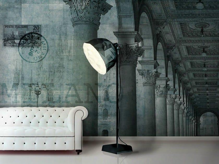 Panoramic wallpaper PIAZZA by N.O.W.  Edizioni