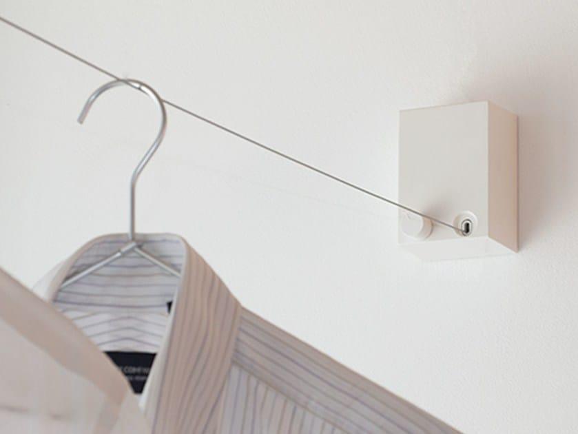 Retractable drying rack PID 4M | Drying rack - Morita Aluminum Industry
