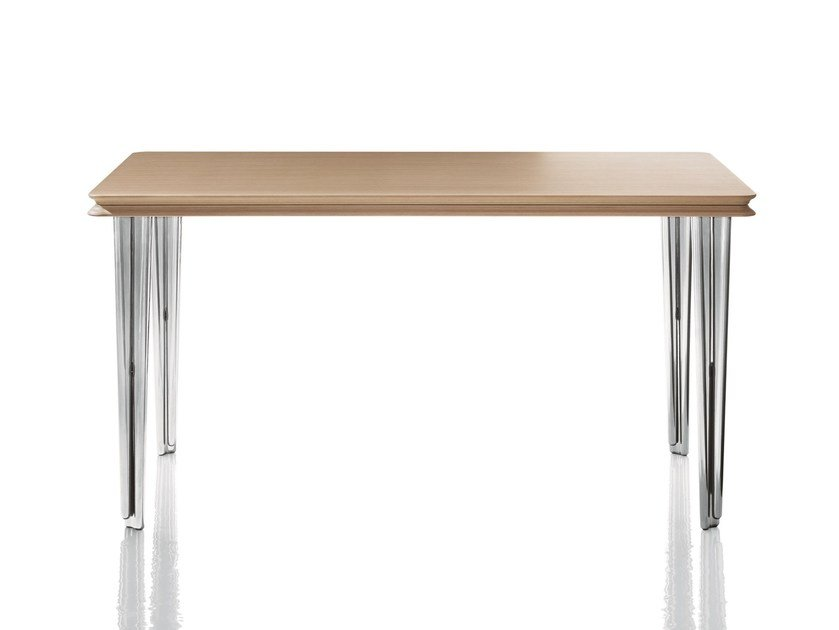 Rectangular multi-layer wood table PIGGYBACK - Magis