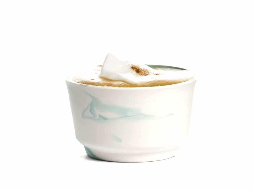 Ceramic materials espresso cup PIGMENTS & PORCELAIN | Espresso cup - Vij5