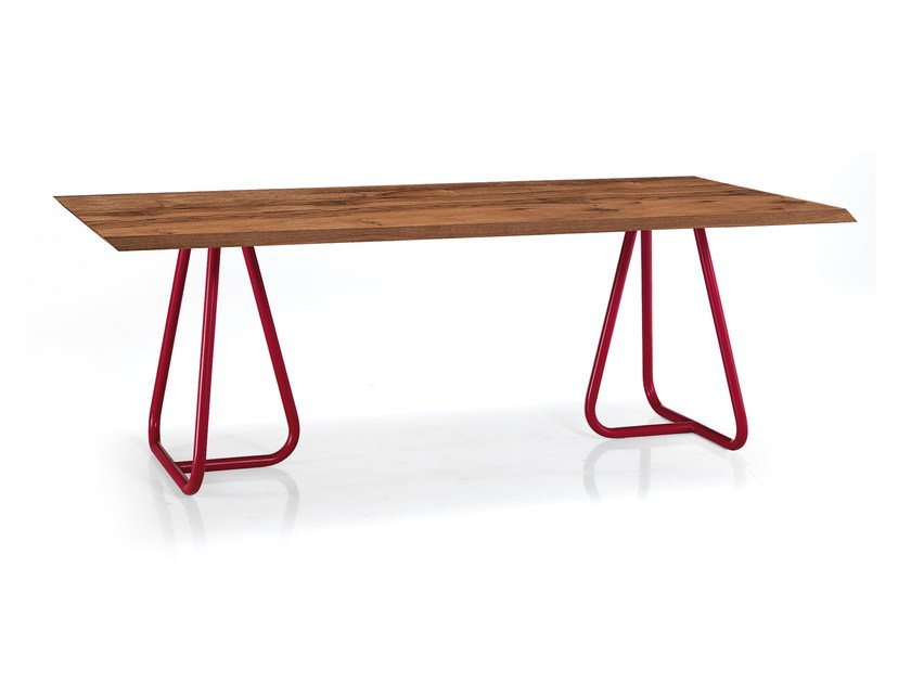 Rectangular oak table PILAR WILD - Oliver B.