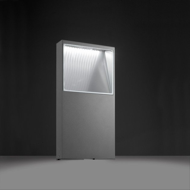 LED extruded aluminium bollard light PIN F.8226 - Francesconi & C.