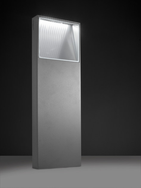 LED extruded aluminium bollard light PIN F.8229 - Francesconi & C.