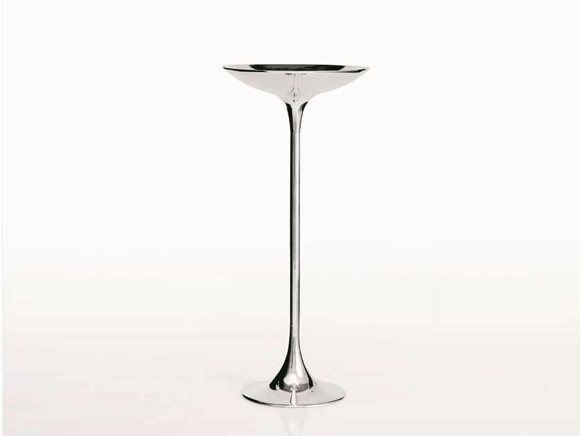 Aluminium coffee table PING II by Driade