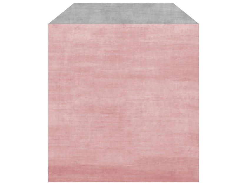Handmade rug POSTIANO PINK GRAPE - HENZEL STUDIO