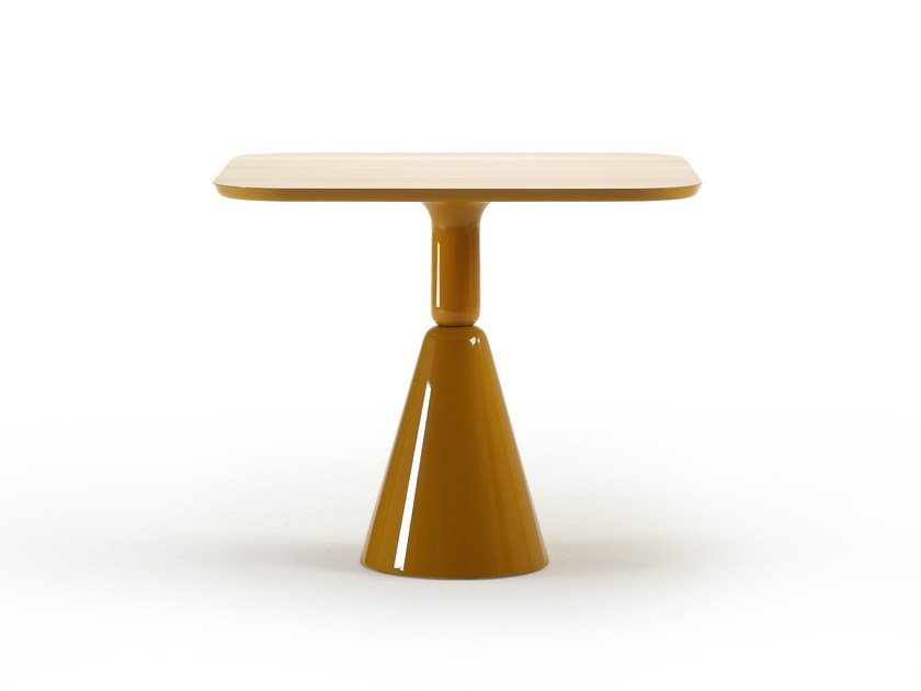 Square wooden table PION | Square table - SANCAL