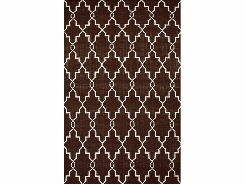 Wool rug MAROC DW-162 Cola/White by Jaipur Rugs