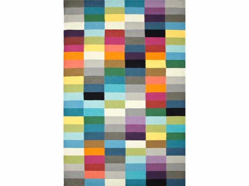 Wool rug with geometric shapes PIX - Jaipur Rugs