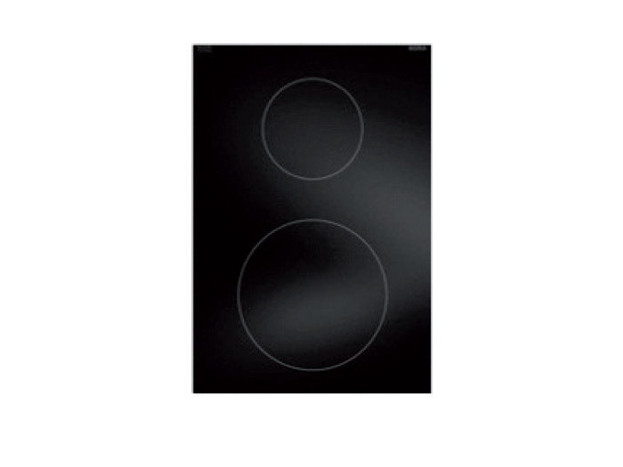 Induction glass ceramic cooktop with 2 cooking zones PKI11 by BORA