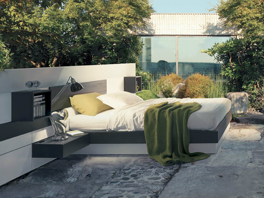 Storage bed PLAN SYSTEM by Fimar