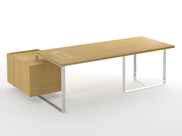 Sectional executive desk PLANA by NARBUTAS