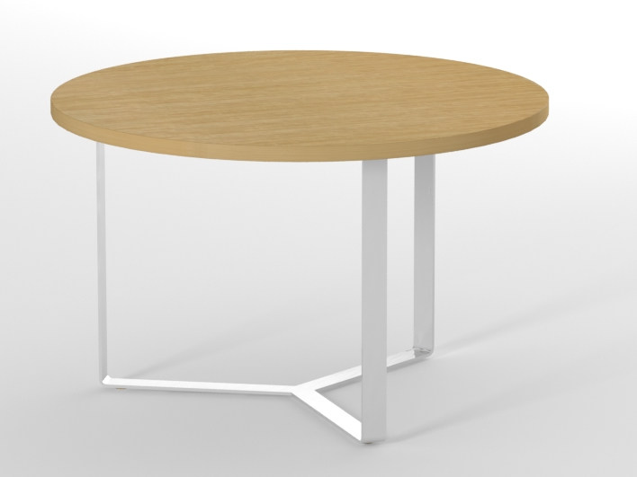 Round meeting table PLANA | Round meeting table by NARBUTAS