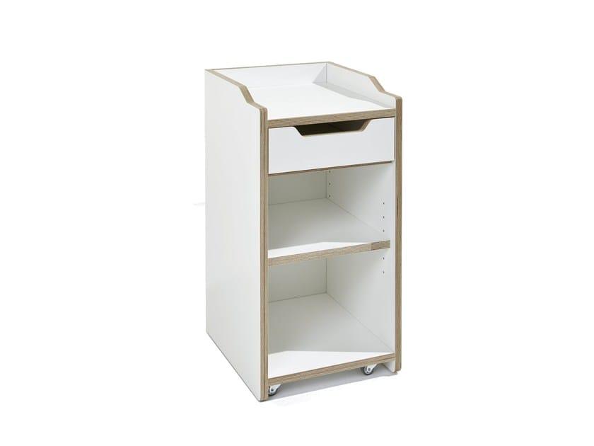 Office drawer unit PLANE - Müller Möbelwerkstätten