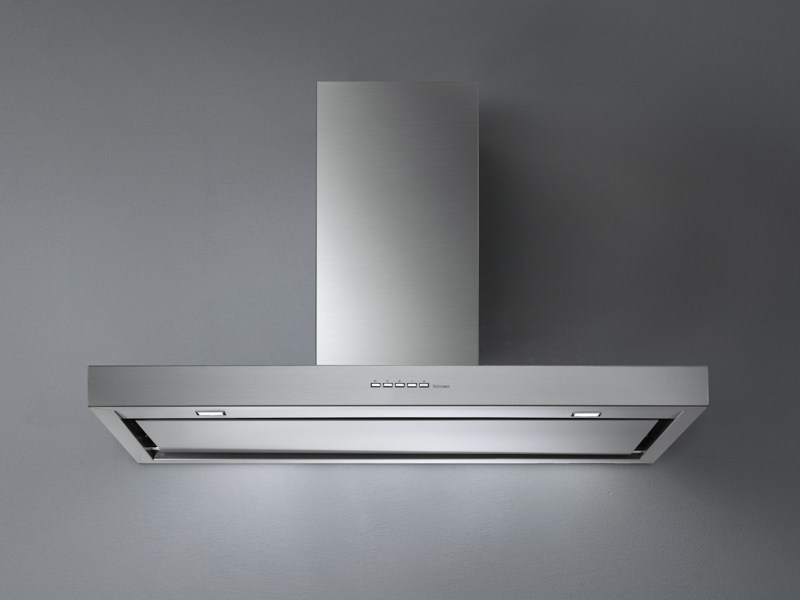Wall-mounted stainless steel cooker hood PLANE TOP - Falmec