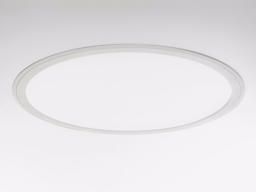 LED recessed polycarbonate ceiling lamp PLANET RING | Recessed ceiling lamp - PANZERI