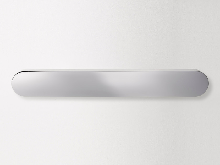 LED indirect light stainless steel wall lamp PLATÒ 60 by Quicklighting