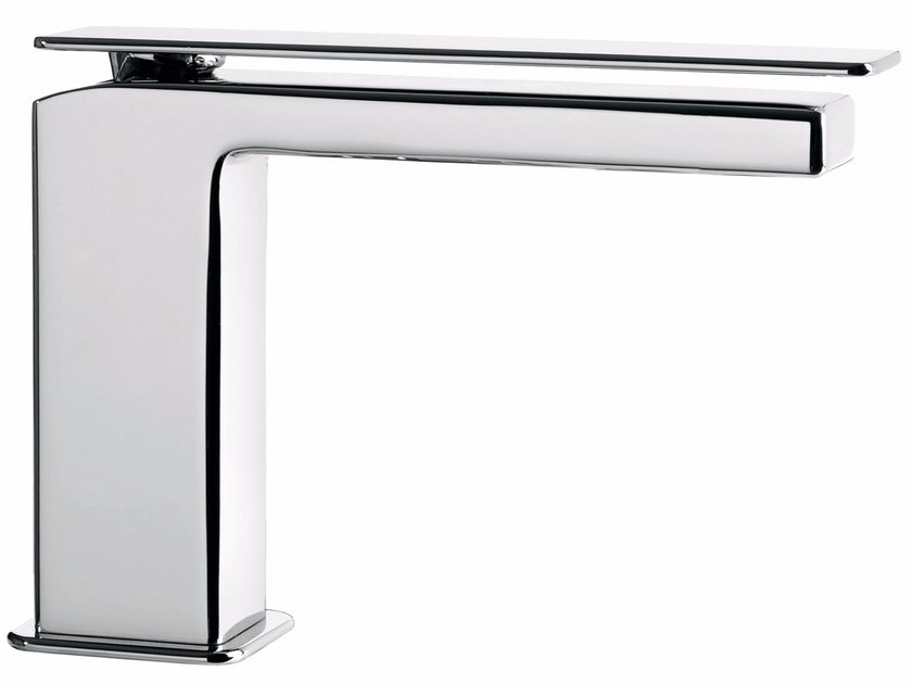 Countertop single handle washbasin mixer without waste PLAYONE 85 - 8514652 - Fir Italia