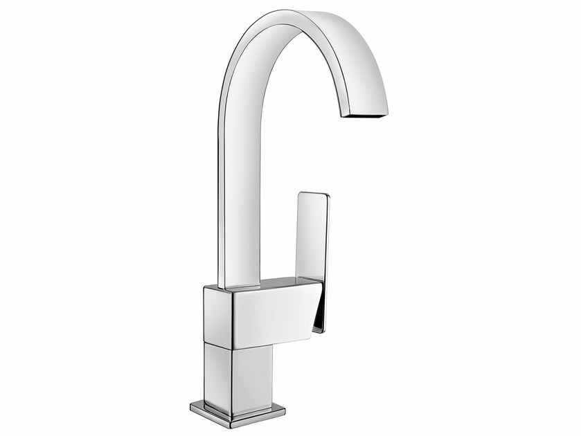 Countertop single handle washbasin mixer without waste PLAYONE 85 - 8514702 - Fir Italia