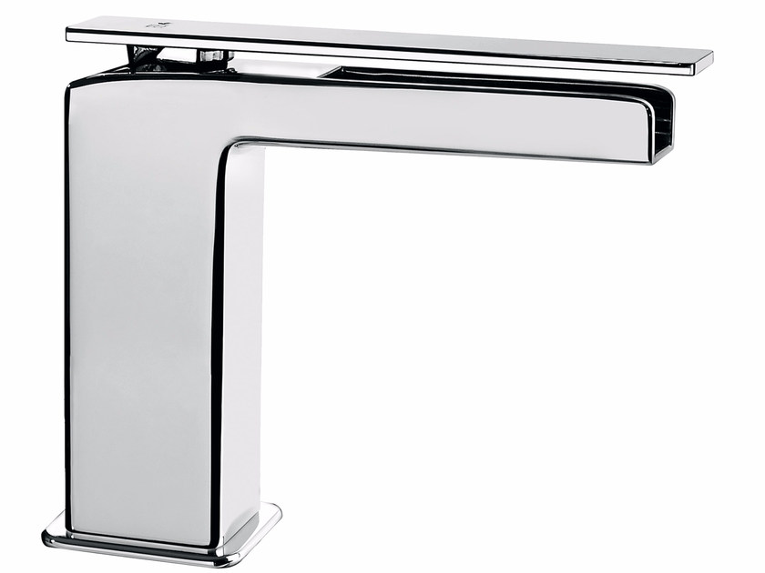 Countertop single handle washbasin mixer without waste PLAYONE 85 - 8514802 - Fir Italia