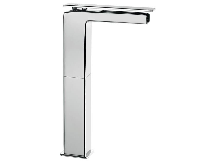 Countertop single handle washbasin mixer without waste PLAYONE 85 - 8514842 - Fir Italia