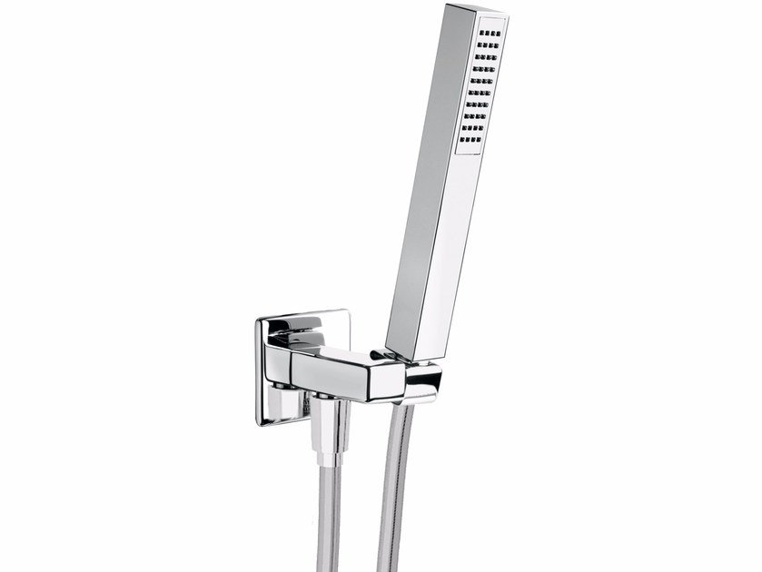 Wall-mounted handshower with bracket PLAYONE 85 - 8539672 - Fir Italia