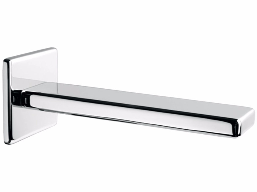 Chrome-plated wall-mounted spout PLAYONE 85 - 8546242 by Fir Italia