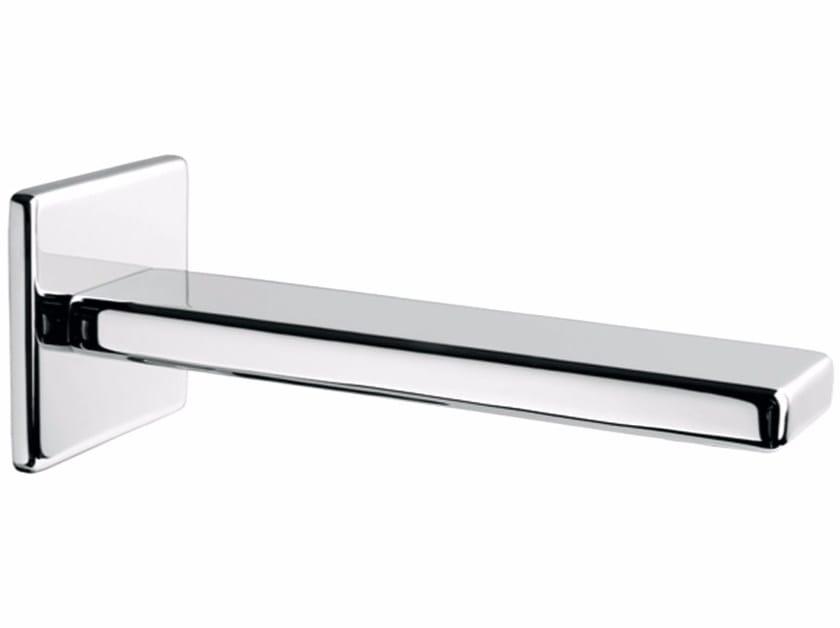 Chrome-plated wall-mounted spout PLAYONE 85 - 8546242 - Fir Italia
