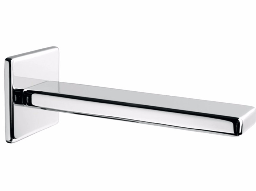Chrome-plated wall-mounted spout PLAYONE 85 - 8546243 - Fir Italia