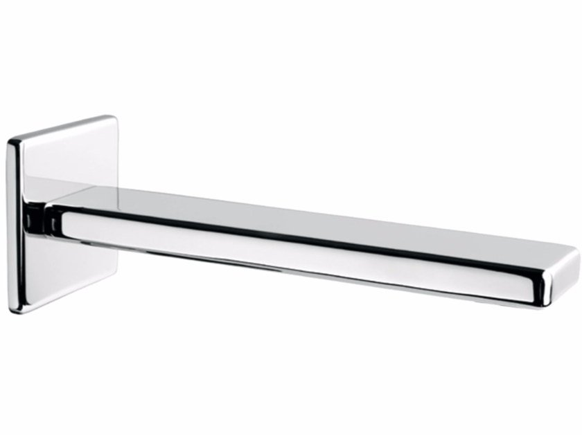 Chrome-plated wall-mounted spout PLAYONE 85 - 8546252 - Fir Italia