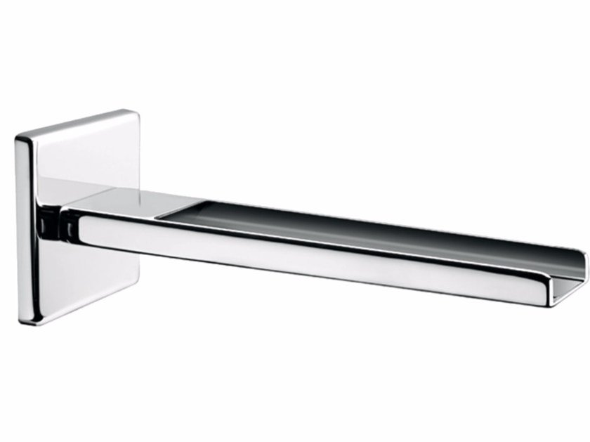 Chrome-plated wall-mounted waterfall spout PLAYONE 85 - 8546302 - Fir Italia