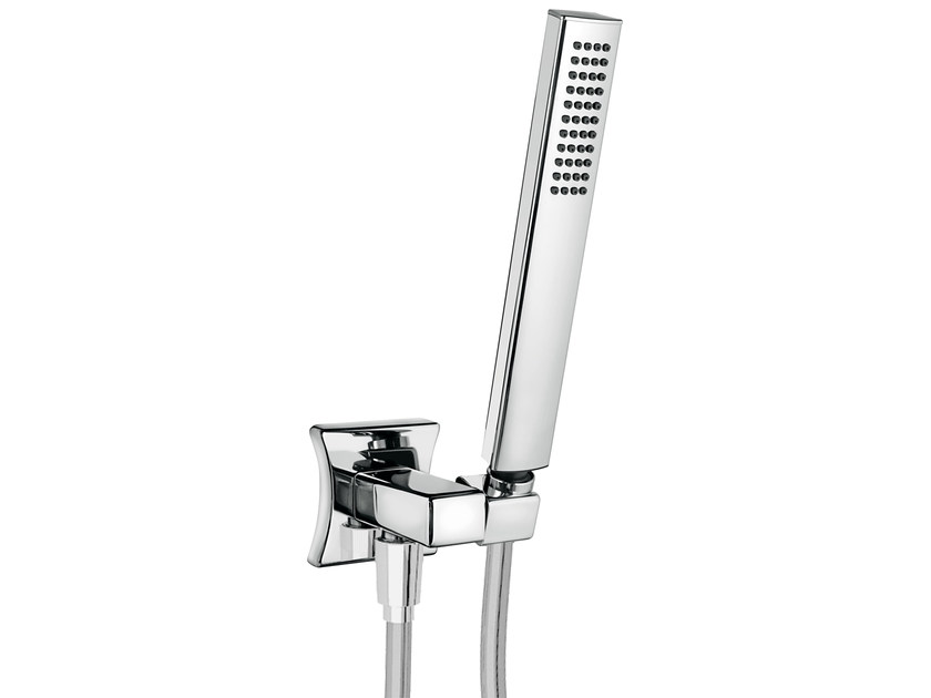 Wall-mounted handshower with bracket for shower PLAYONE DÉCO - 8739722 - Fir Italia
