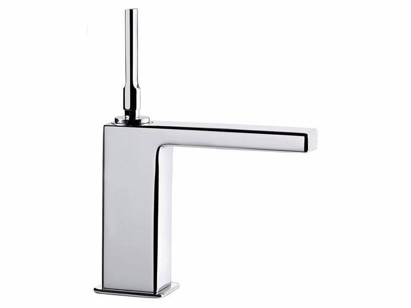 Countertop single handle washbasin mixer without waste PLAYONE JK 86 - 8615012 - Fir Italia