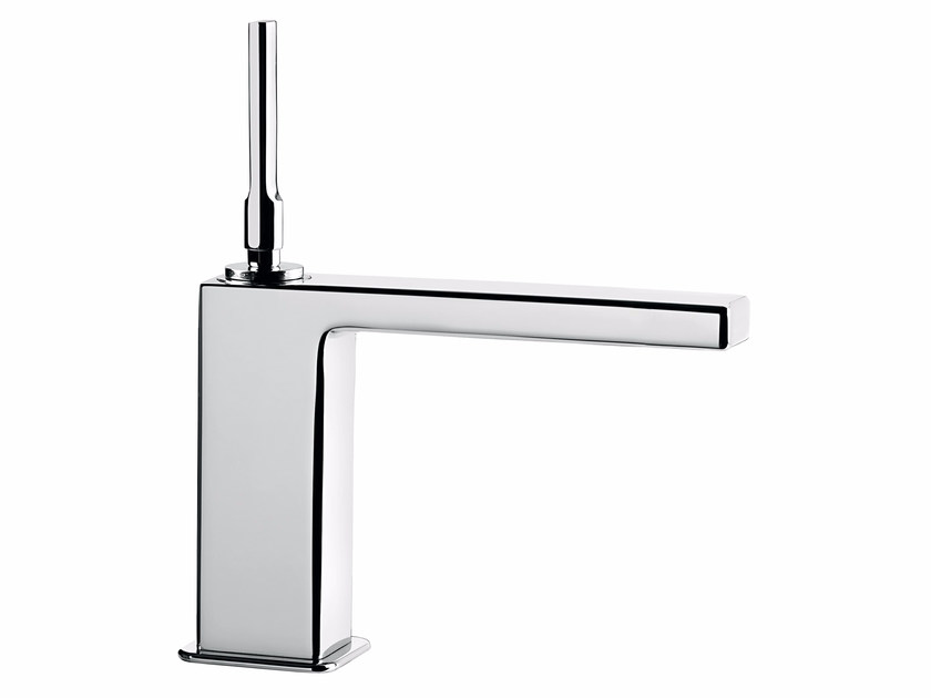Countertop single handle washbasin mixer without waste PLAYONE JK 86 - 8615022 - Fir Italia