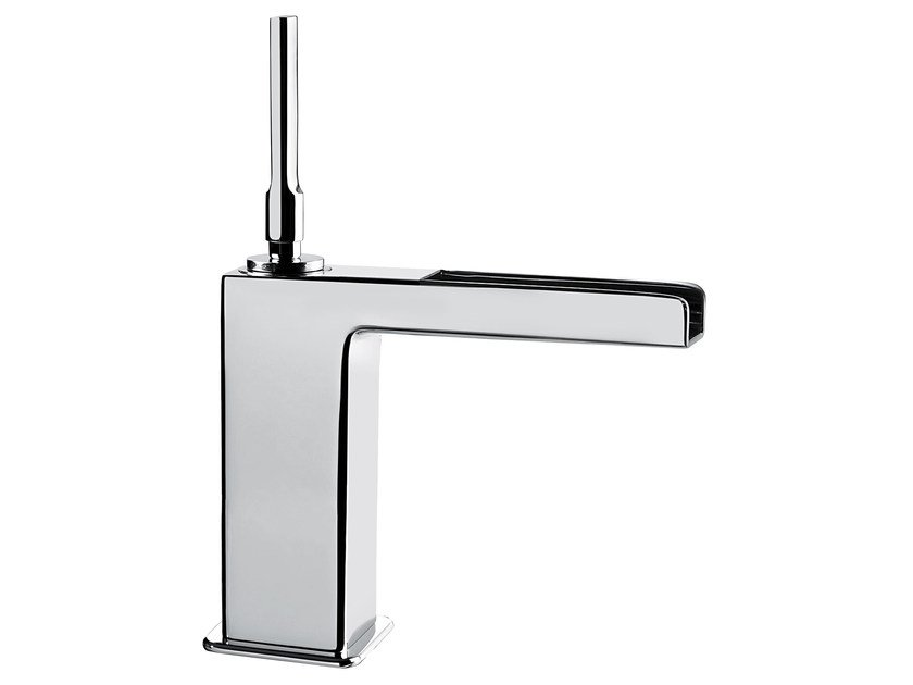 Countertop single handle washbasin mixer without waste PLAYONE JK 86 - 8615032 - Fir Italia