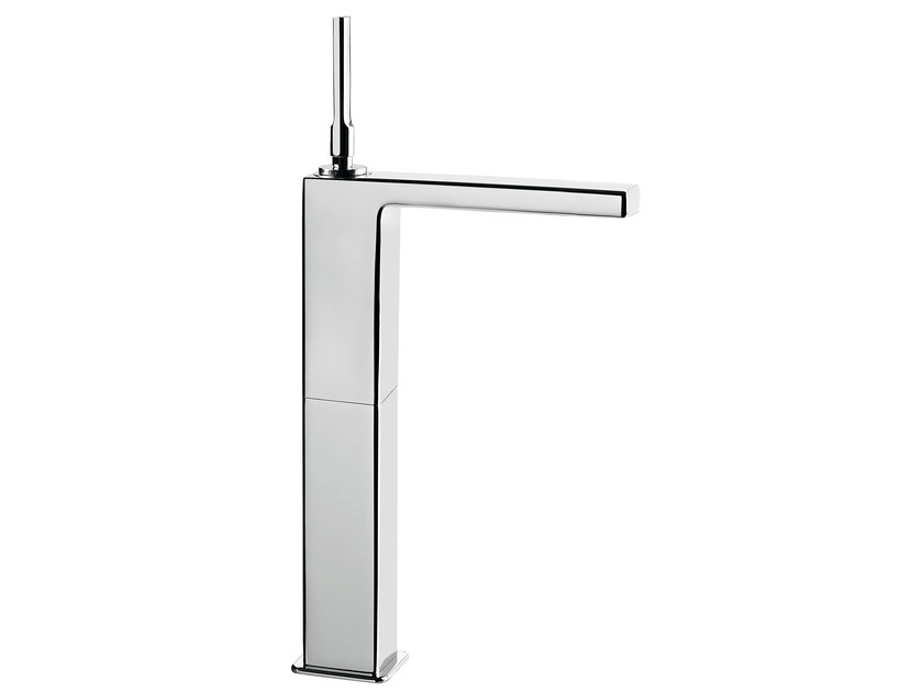 Countertop single handle washbasin mixer without waste PLAYONE JK 86 - 8615052 - Fir Italia