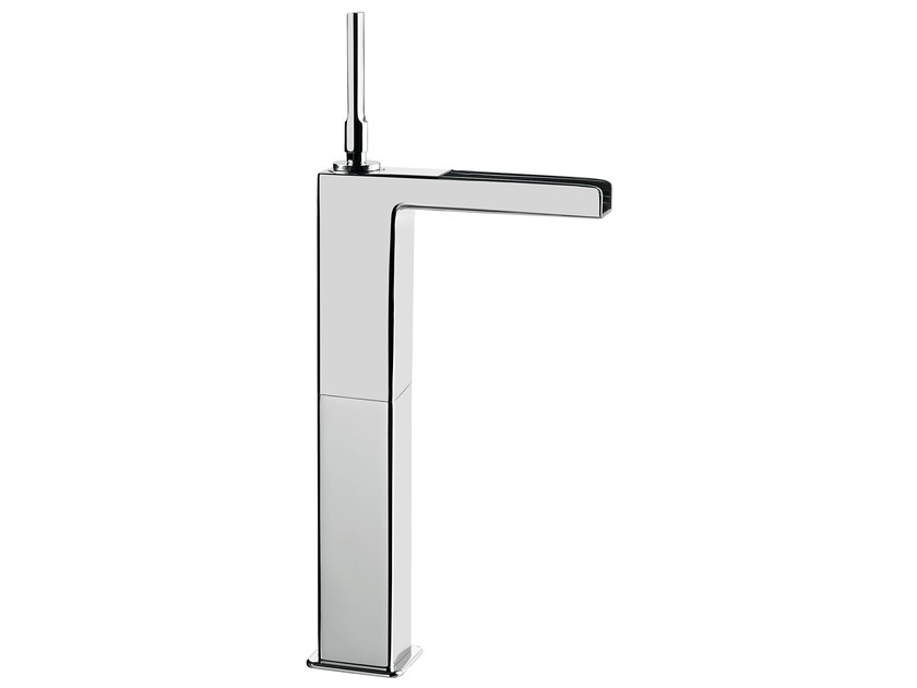 Countertop single handle washbasin mixer without waste PLAYONE JK 86 - 8615062 by Fir Italia