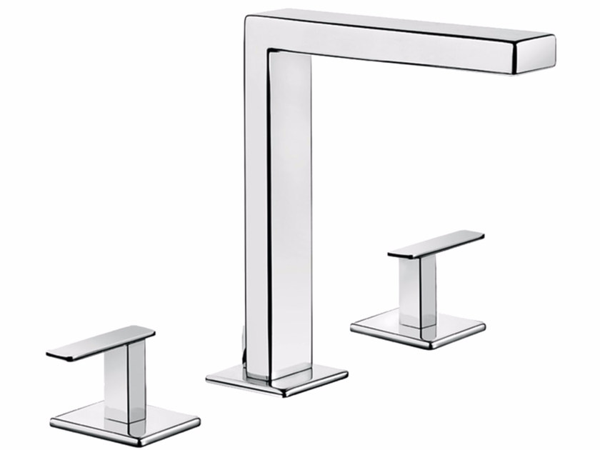 3 hole countertop washbasin tap PLAYONE MINUS 38 - 3812505 by Fir Italia