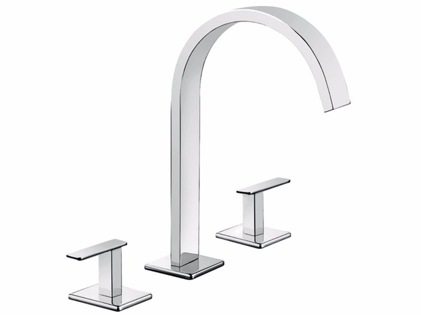 3 hole countertop washbasin tap PLAYONE MINUS 38 - 3812515 - Fir Italia