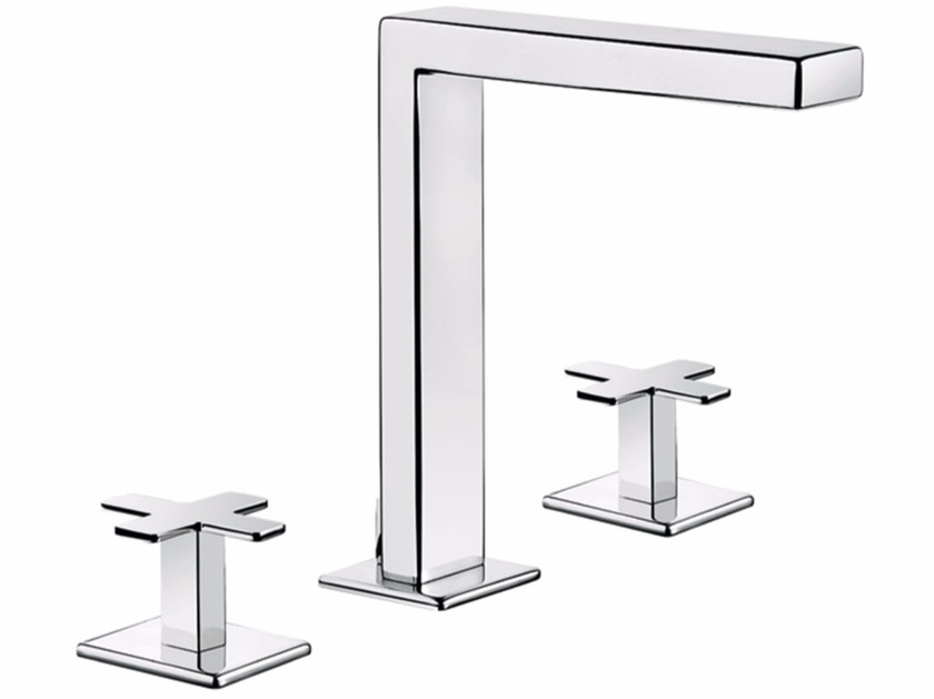 3 hole countertop washbasin tap PLAYONE PLUS 37 - 3712505 by Fir Italia
